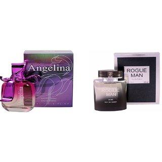 Ramco Angelina and  Rogue Man Perfume 100ML100ML