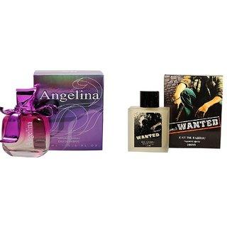 Ramco Angelina and  Wanted Perfume 100ML100ML