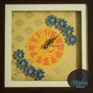 Traditional Paper antique handmade design Wall Watch