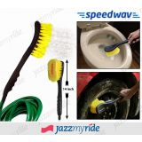 Speedwav 2 In 1 Cleaning Brush With Water Spray For Home, Car & Office