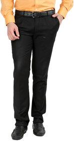 Gwalior Black Slim Fit Formal Trouser