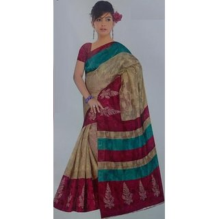 Bhagya Multicolor Cutout Cotton
