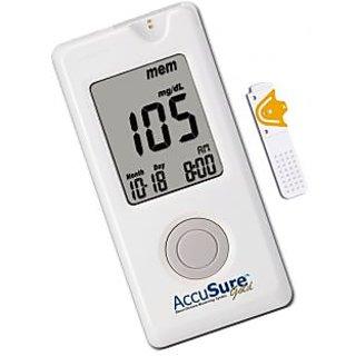 Dr. Gene Accu Sure Gold Blood Sugar Glucose Monitoring +10 Strips