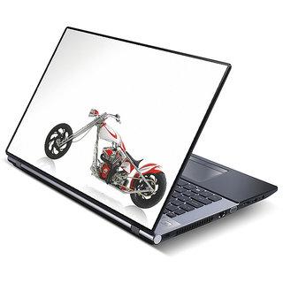 FineArts Vinyl Laptop Skin - Bike