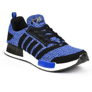 Jqr Mens Blue Lace-Up Sport Shoes