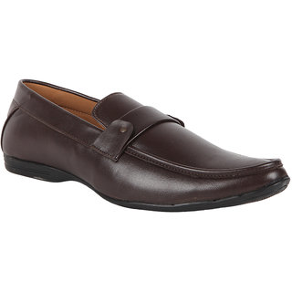 Duke Mens Brown Loafers