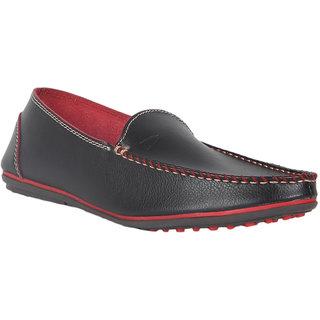 Duke Mens Black Loafers
