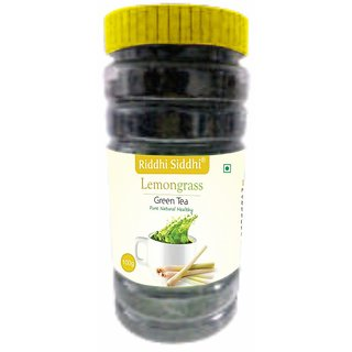 Riddhi Siddhi Lemon Grass Green tea, 100g Jar