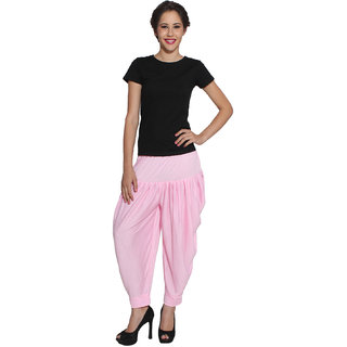 Pietra Light Pink colored Pan Style Dhoti