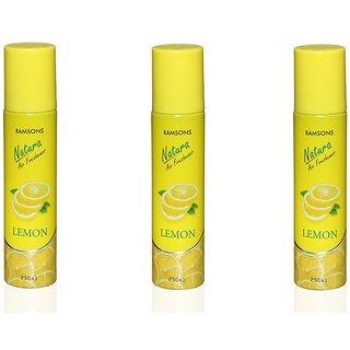 Ramsons Floral Lemon Combo Air Freshener Pack of 3
