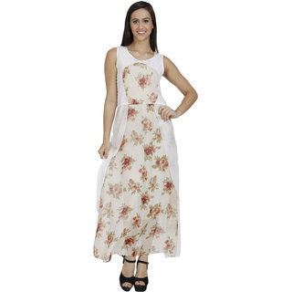 White colored Dress
