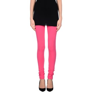 Pietra Light Pink colored plain legging