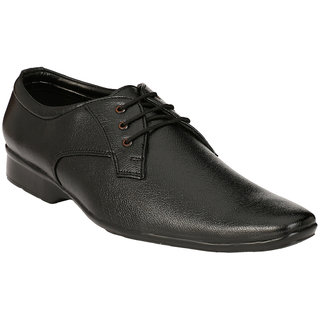 BONTONO Men's Black Formal Shoes