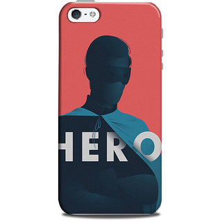 Mikzy Hero With Mask Printed Designer Back Cover Case for Iphone 5/5S