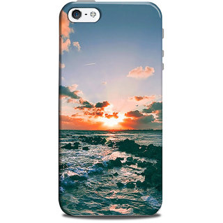 Mikzy Sunset Printed Designer Back Cover Case for Iphone 5/5S