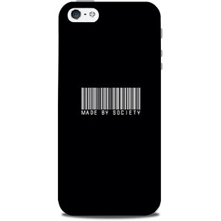 Mikzy Made By Society Pattern Printed Designer Back Cover Case for Iphone 5/5S