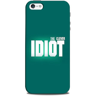 Mikzy The Clever Idiot  Printed Designer Back Cover Case for Iphone 5/5S