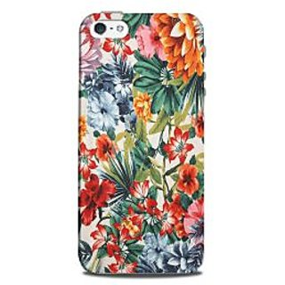 Mikzy Floral Art Multicolour Printed Designer Back Cover Case for Iphone 5/5S