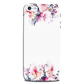 Mikzy Flowers Art Top And Bottom Printed Designer Back Cover Case for Iphone 5/5S