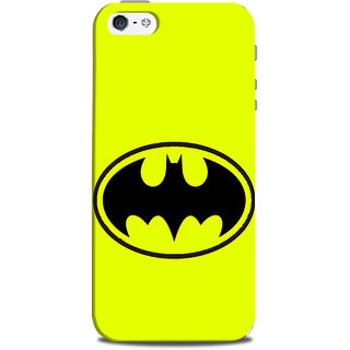 Mikzy Opened Mouth Neon Colour Printed Designer Back Cover Case for Iphone 5/5S