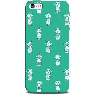 Mikzy Pineapple Pattern Printed Designer Back Cover Case for Iphone 5/5S