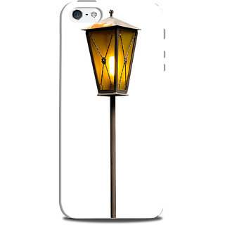 Mikzy Yellow Lamp Pole Printed Designer Back Cover Case for Iphone 5/5S