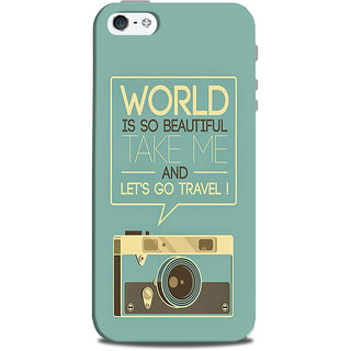 Mikzy Camera  Printed Designer Back Cover Case for Iphone 5/5S
