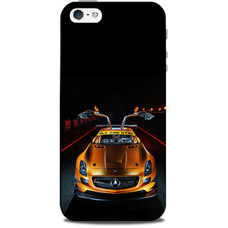 Mikzy Mercedes Sls Amg Printed Designer Back Cover Case for Iphone 5/5S