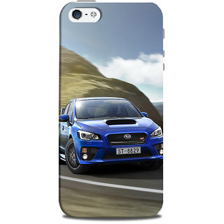 Mikzy Blue Ford Printed Designer Back Cover Case for Iphone 5/5S