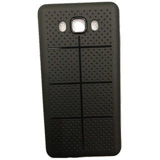 Black Dotted Back Cover For Samsung Galaxy J7(2016)