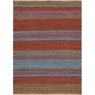 Naturals Flat Weaves Brown Hemp Area Rugs By Jaipur Rugs