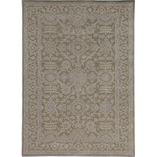 Classic Hand Tufted Silver Gray Wool Area Rugs By Jaipur Rugs