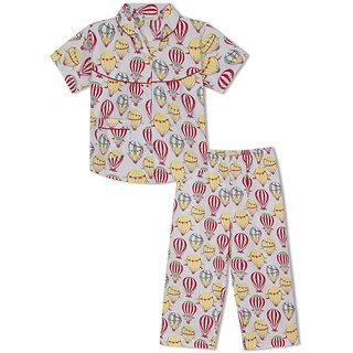 GreenApple Up In The Air Girls Nightsuit