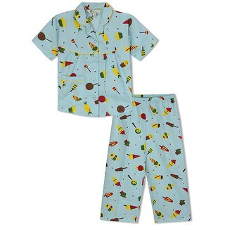 GreenApple Yummy Candy Girls Nightsuit