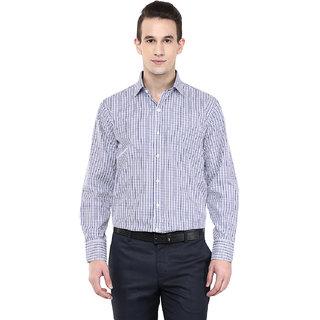 Richlook White Regular Fit Formal Shirt for Men
