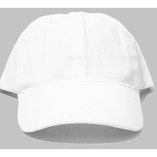 Plain white cap for men In India - Shopclues Online 67fdce87bd5