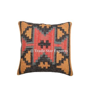 Wool/Jute Embrodary Multicolor Cushion Covers From the house of Trade Star