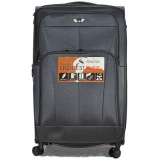 Texas 24 inch 4wheel  Trolley Bag emzlug5003s24grey