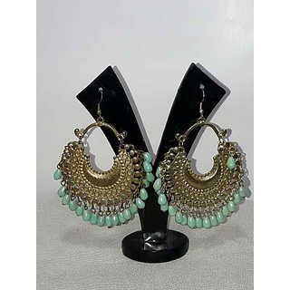 glass beads en kasting earing