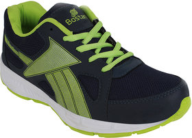 Bostan Men Navy  Green Shoes