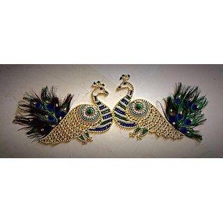 Traditional Handmade Peacock Rangoli