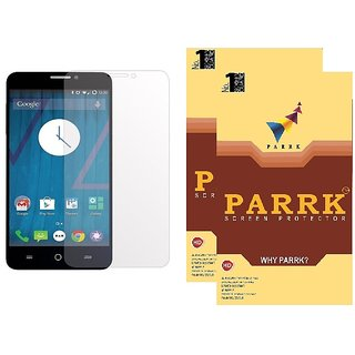 PARRK Matte Screen Guard for Micromax Canvas Knight A350 Front/Back Pack of 2