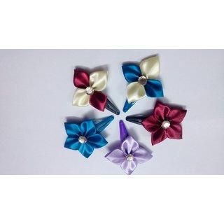 Vandhana Handmade fancy  hair Bow  Clips for kids