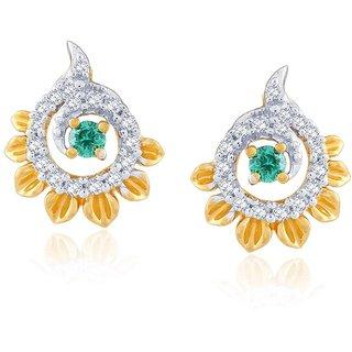 Gili Diamond Earrings BAEP593SI-JK18Y