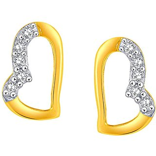 Asmi Diamond Earrings PE25633SI-JK18Y