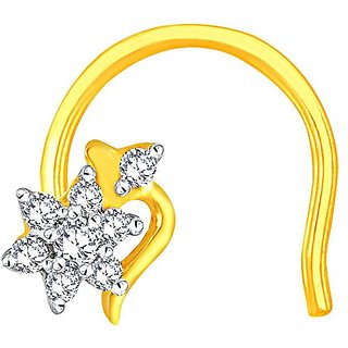 Shuddhi Diamond Nosepin NNPC003SI-JK18Y