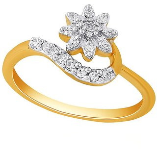 Nakshatra Diamond Ring ADR00769SI-JK18Y