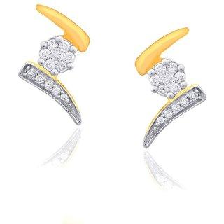 Nirvana Diamond Earrings NR77182SI-JK18Y