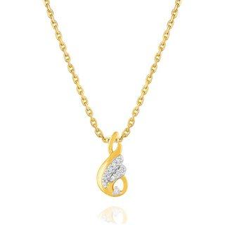 Shuddhi Diamond Pendant PP16313SI-JK18Y