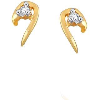 Nirvana Diamond Earrings DDE00324SI-JK18Y